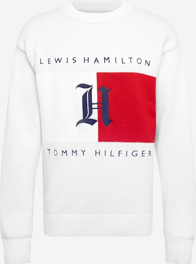 TOMMY HILFIGER Shirt 'Hamilton' in dunkelblau / rot / weiß, Produktansicht
