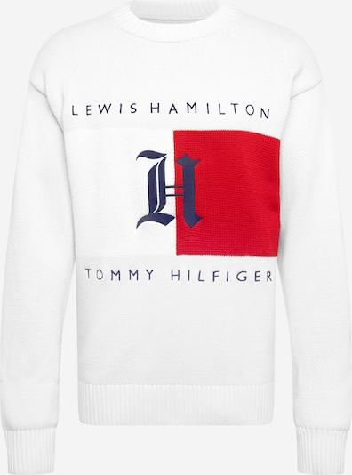 TOMMY HILFIGER Shirt 'Hamilton' in de kleur Donkerblauw / Rood / Wit, Productweergave