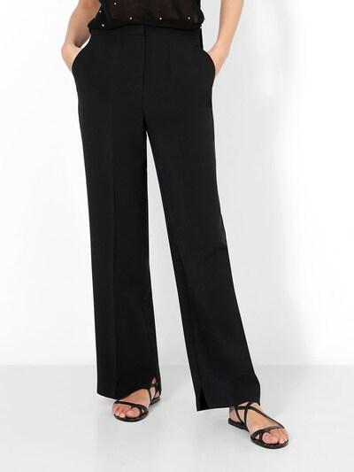 Scalpers Hose in schwarz, Modelansicht
