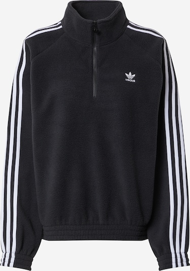 ADIDAS ORIGINALS Sweatshirt in black / white, Item view