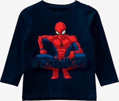 NAME IT T-Shirt 'Spiderman' en bleu / saphir / rouge, Vue avec produit