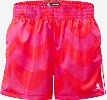 ADIDAS ORIGINALS Shorts in Red