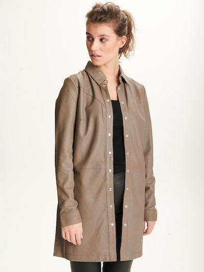 BTFCPH Bluse 'Tanja' in dunkelbeige, Modelansicht