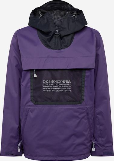 DC Shoes Outdoorjas 'Asap' in de kleur Aubergine / Donkerlila / Zwart, Productweergave