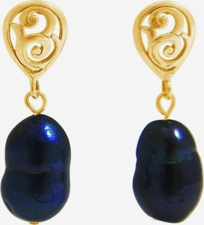 Gemshine Ohrringe in blau / gold, Produktansicht