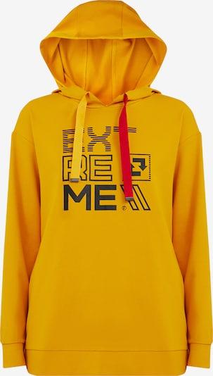 Finn Flare Sweatshirt in gelb, Produktansicht
