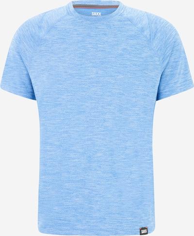 SAXX T-Shirt fonctionnel 'AERATOR' en bleu clair, Vue avec produit