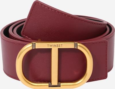 Twinset Opasky - zlatá / bordová, Produkt