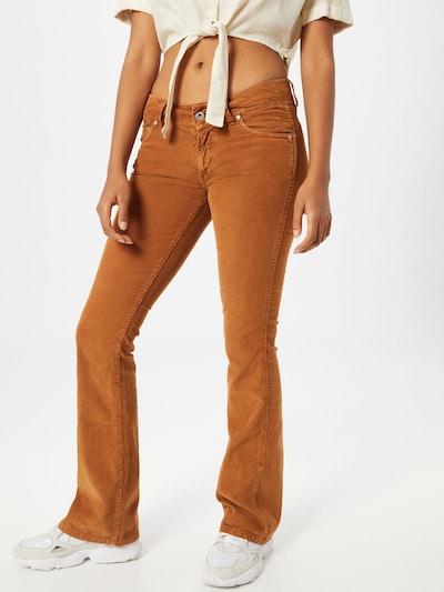 Pepe Jeans Broek 'Pimlico' in de kleur Oker, Modelweergave