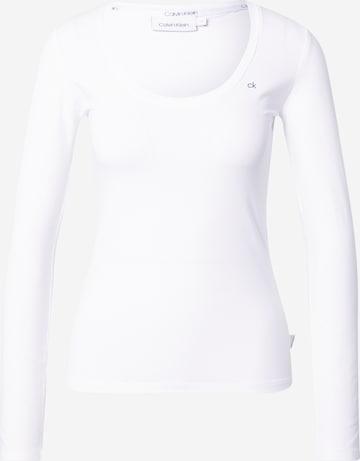 T-shirt Calvin Klein en blanc