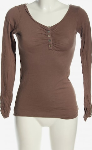 Gina Tricot Top & Shirt in XS in Brown