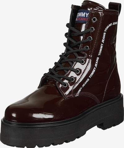 Tommy Jeans Stiefel ' ELEVEN 5Y2 ' in bordeaux, Produktansicht