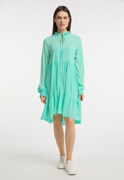 Usha Kleid in mint, Modelansicht
