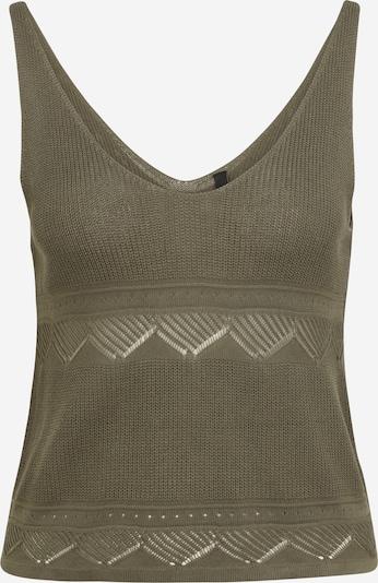 Y.A.S Petite Tops en tricot 'FAITH' en kaki, Vue avec produit