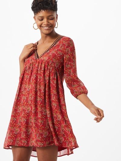 VILA Kleid in gelb / rot, Modelansicht