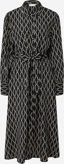 Kaffe Kleid 'Olan' in schwarz / weiß, Produktansicht