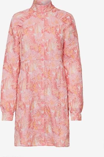 SELECTED FEMME Kleid 'Rotta' in beige / goldgelb / rosa / altrosa, Produktansicht