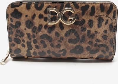 DOLCE & GABBANA Bifold in One Size in beige / schwarz, Produktansicht