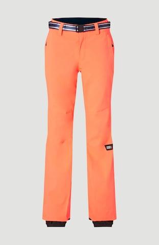 O'NEILL Vabaajapüksid 'Star Slim', värv oranž