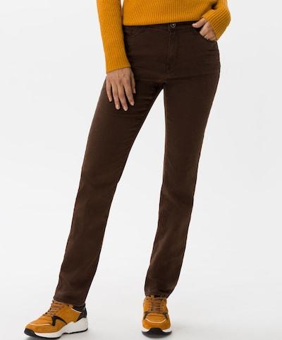 BRAX Jeans 'Mary' in de kleur Donkerbruin, Modelweergave