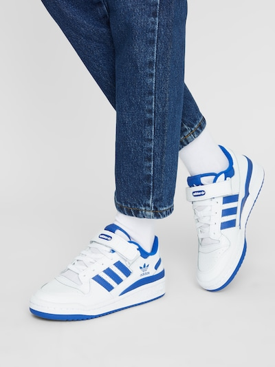 ADIDAS ORIGINALS Sneakers 'Forum' in Royal blue / White: Frontal view