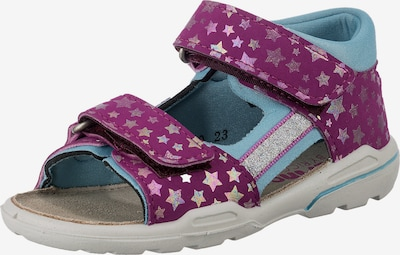 Pepino Sandals 'KAIA' in Light blue / Purple, Item view