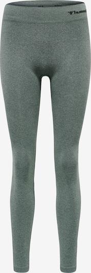 Hummel Sportbroek in de kleur Grijs / Zwart, Productweergave