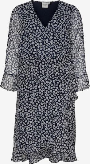 Junarose Kleid in dunkelblau / weiß, Produktansicht