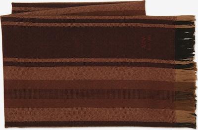 MJM Schal 'Marco' in braun / schoko / braunmeliert, Produktansicht