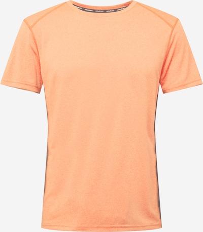 Rukka Camiseta funcional 'MELKOLA' en gris / naranja claro / negro, Vista del producto