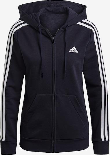 ADIDAS PERFORMANCE Sportief sweatvest in de kleur Donkerblauw / Wit, Productweergave