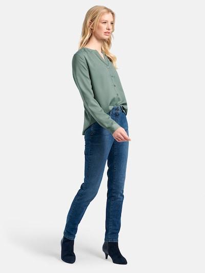 Basler Bluse in grün, Modelansicht