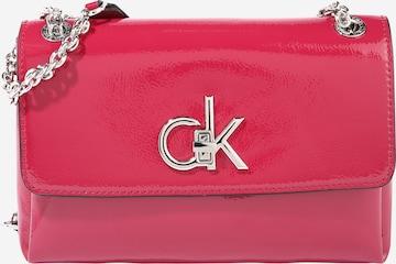 Calvin Klein Чанта за през рамо тип преметка в розово