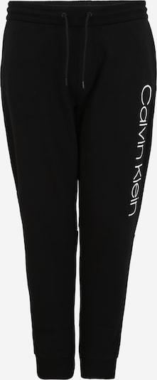 Calvin Klein Pantalon en noir / blanc, Vue avec produit