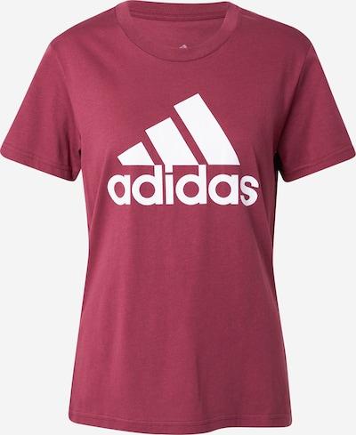 ADIDAS PERFORMANCE Funkční tričko - vínově červená / bílá, Produkt