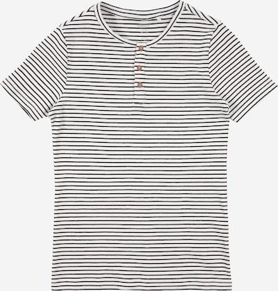 NAME IT Shirt 'SOLO' in de kleur Zwart / Wit, Productweergave