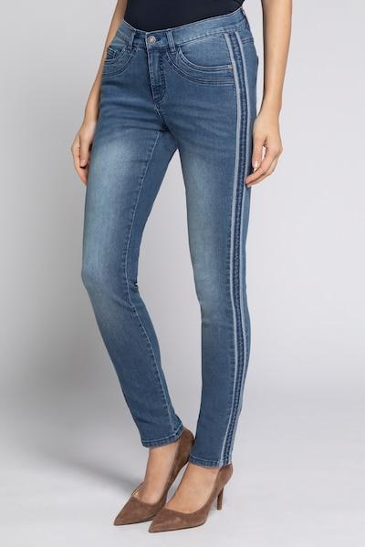 Gina Laura Jeans 'Julia' in blue denim, Modelansicht