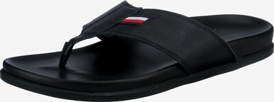 TOMMY HILFIGER Zehentrenner in schwarz, Produktansicht