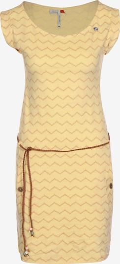 Ragwear Poletna obleka | rumena / bela barva, Prikaz izdelka