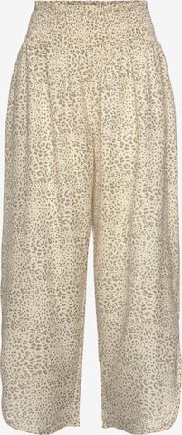 BUFFALO Pyžamové nohavice - Béžová