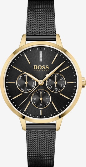 BOSS Casual Analog Watch in Gold / Black, Item view