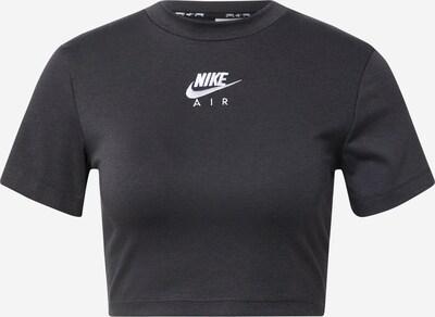 Nike Sportswear Shirt in dunkelgrau / weiß, Produktansicht