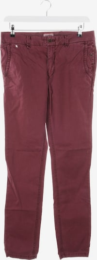 Tommy Jeans Hose in 31/34 in weinrot, Produktansicht