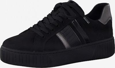 Sneaker low MARCO TOZZI pe negru / argintiu, Vizualizare produs