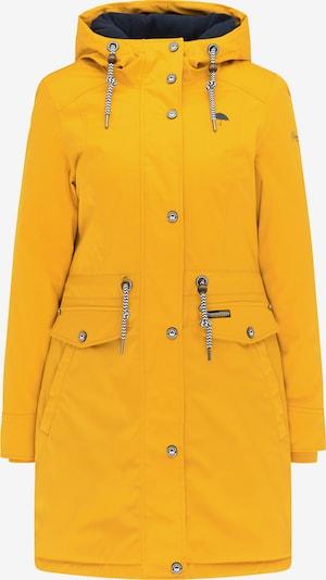 Schmuddelwedda Winterparka in navy / gelb, Produktansicht