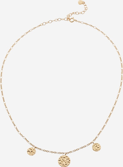 Pernille Corydon Jewellery Chaîne 'New Moon' en or, Vue avec produit