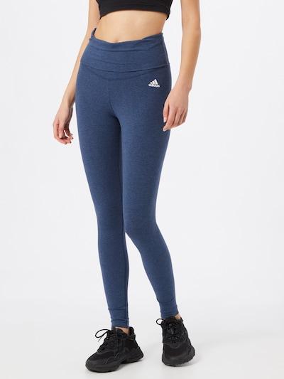 ADIDAS PERFORMANCE Leggings in dunkelblau: Frontalansicht