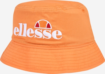 ELLESSE Hut in orange / rot / weiß, Produktansicht