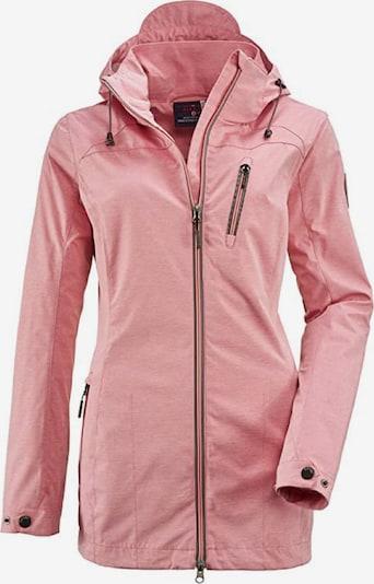 KILLTEC Jacke 'Solena Stripe' in rosa, Produktansicht