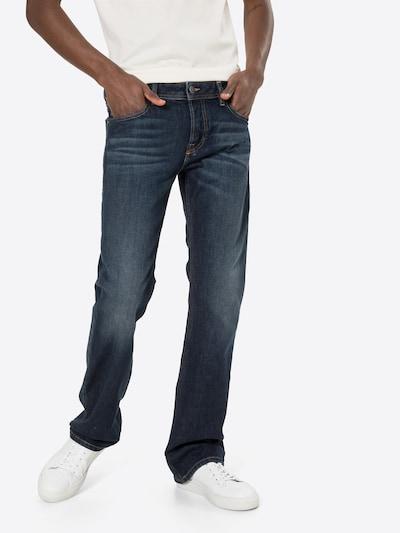 DIESEL Jean 'ZATINY-X' en bleu foncé, Vue avec modèle